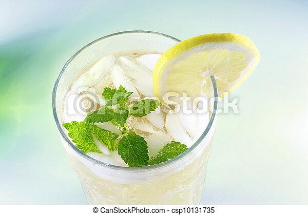 Ice-cold Lemonade - csp10131735