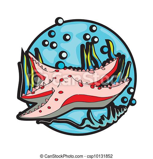 starfish clipart - csp10131852