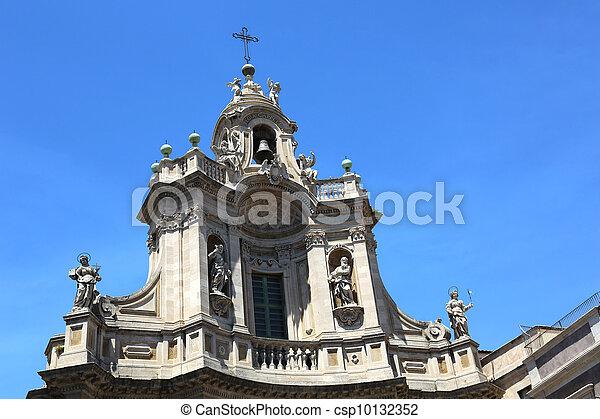 Collegiata Church Catania - csp10132352