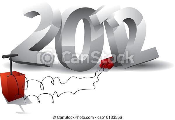 2012 bomb - end of the world? - csp10133556