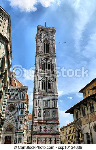 Belfry of Santa Maria del Fiore - csp10134889
