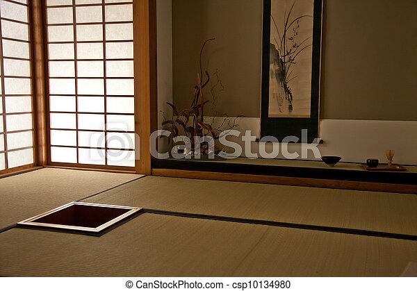 bilder von japanisches zimmer inneneinrichtung von a japanisches csp10134980 suchen. Black Bedroom Furniture Sets. Home Design Ideas