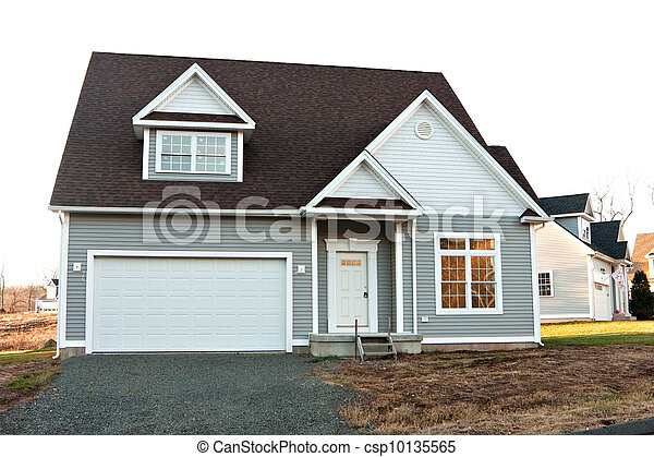 Residential Home Construction - csp10135565