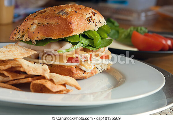 Tasty Deli Sandwich - csp10135569
