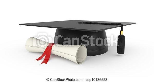 Graduation cap - csp10136583