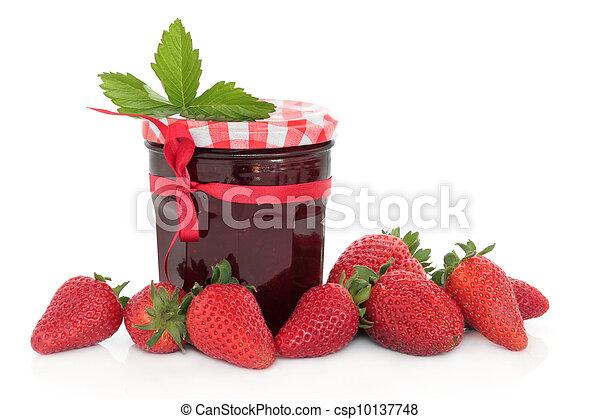 Strawberry Jam - csp10137748