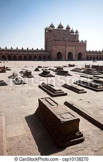 Fatehpur Sikri, Agra, Uttar Pradesh, India - csp10138270