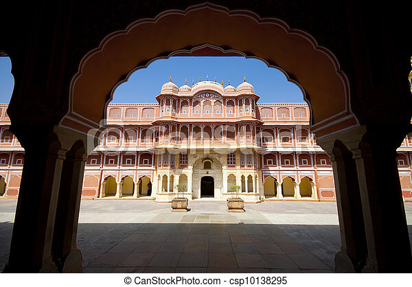 City Palace in Jaipur, India - csp10138295