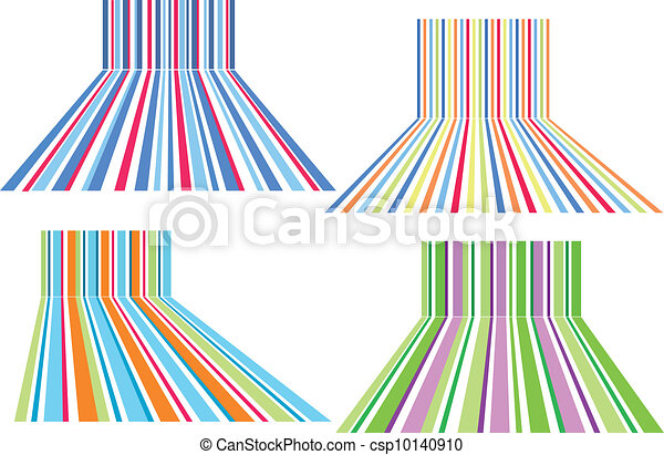 colorful striped backgrounds - csp10140910
