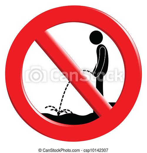 The sign ban - csp10142307