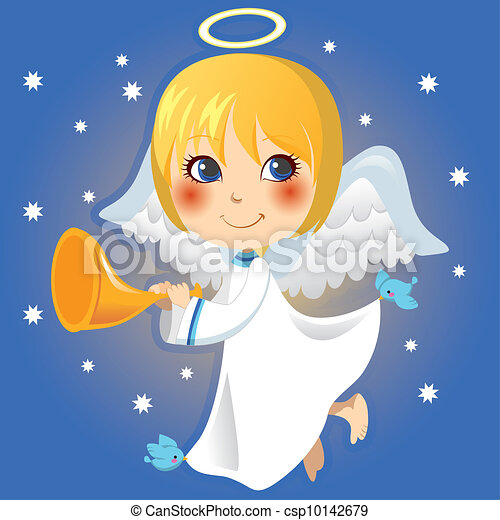 Little Angel Announcement - csp10142679