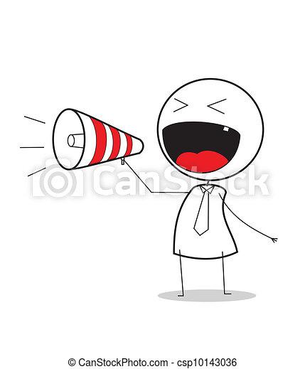 megaphone promotion - csp10143036
