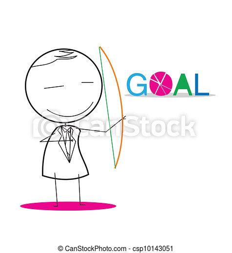 Archery Goal - csp10143051