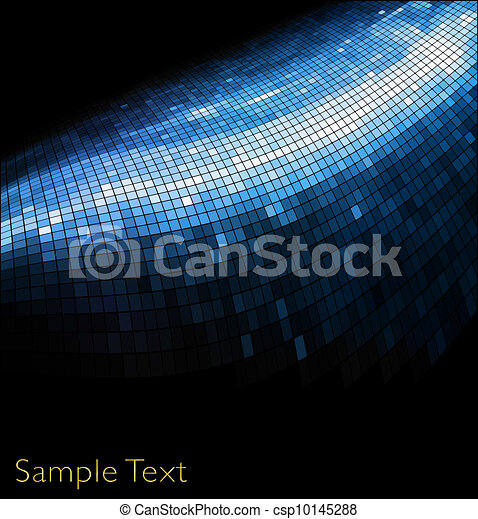 Vector geometric tech background. Vector creative background. Eps10 - csp10145288