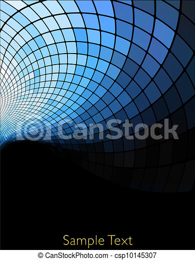Vector geometric tech background. Vector creative background. Eps10 - csp10145307