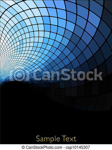 Vector geometric tech background. Vector creative background. Eps10 - csp10145307