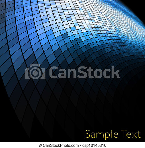 Vector geometric tech background. Vector creative background. Eps10 - csp10145310