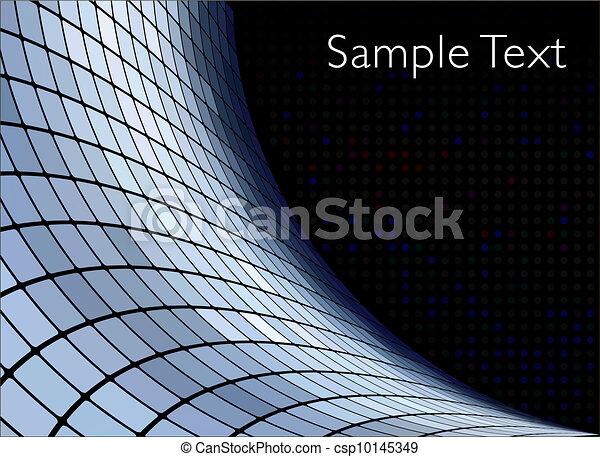 Vector geometric tech background. Vector creative background. Eps10 - csp10145349