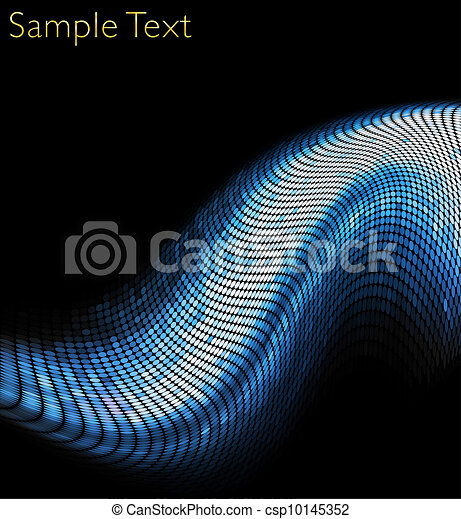 Vector geometric tech background. Vector creative background. - csp10145352