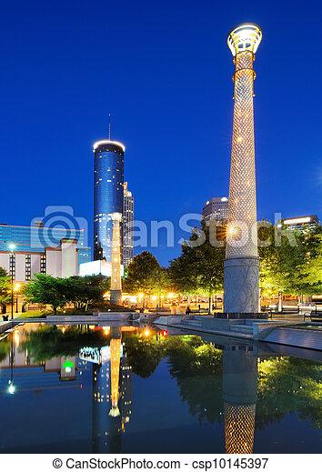 Centennial Olympic Park - csp10145397