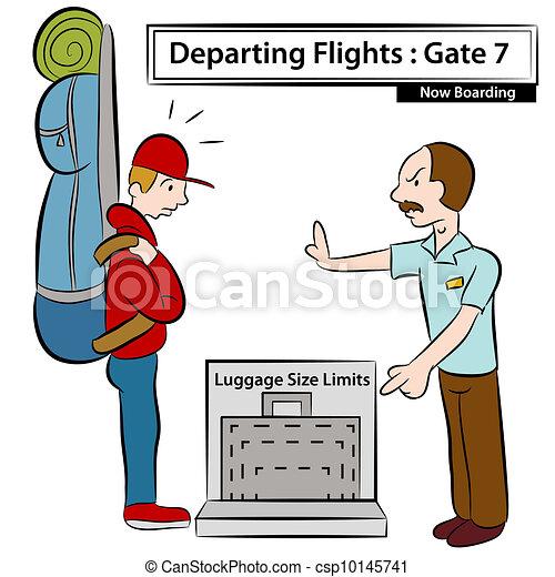 Luggage Size Limits - csp10145741