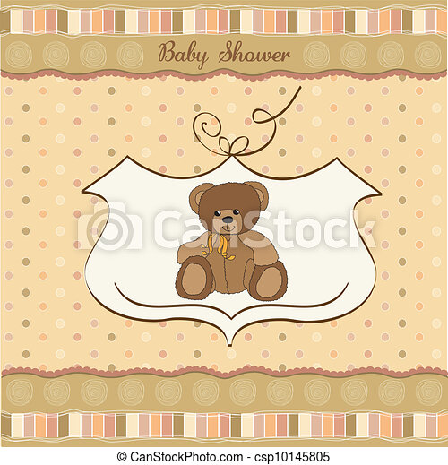 can-stock-photo_csp10145805 Teddy Bear For Baby Shower