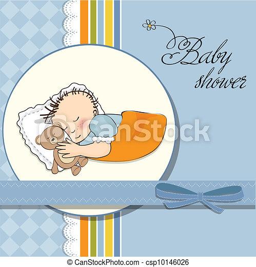 可爱的男宝宝睡觉头像