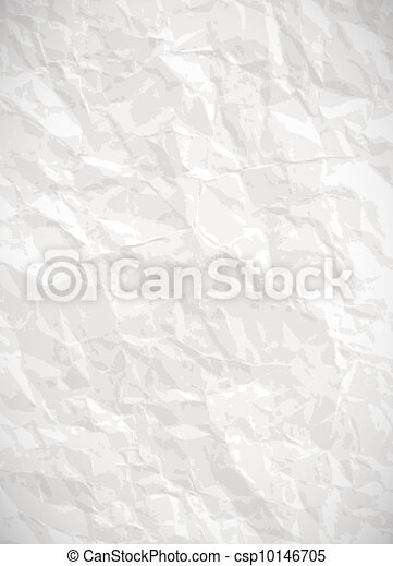 Paper background - vector creased texture - csp10146705