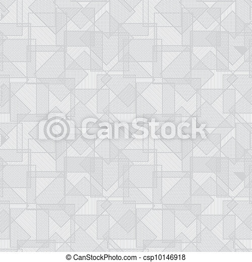 Abstract vector texture - overlapping squares - csp10146918