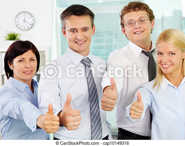 Excellent workers - csp10149316