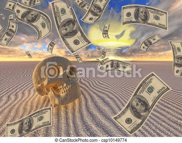 War Greed - csp10149774