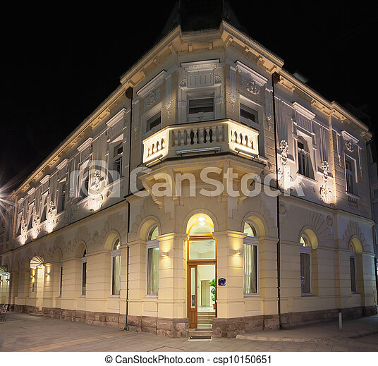 Old building exterior  - csp10150651
