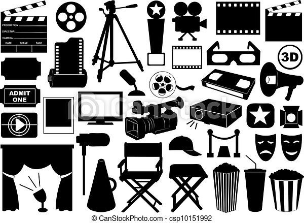 Movie related elements - csp10151992