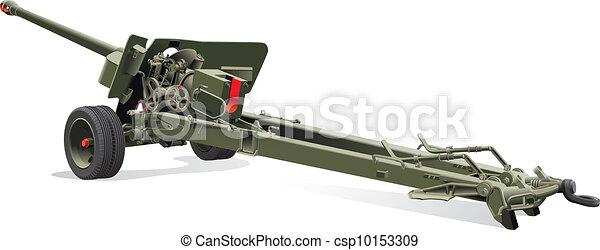 old field gun - csp10153309
