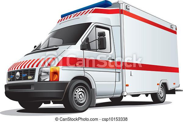 Ambulance Car Drawing Vector Ambulance Car