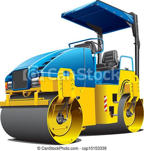 double road roller - csp10153339
