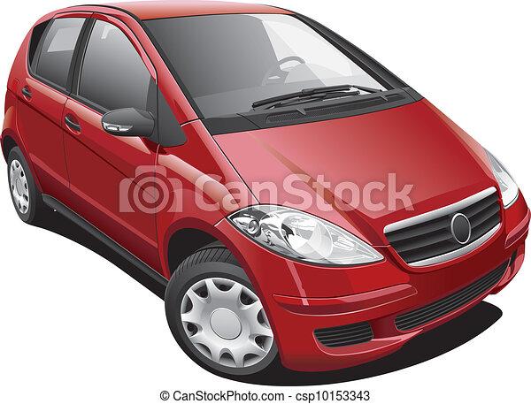 European Modern Minivan - csp10153343