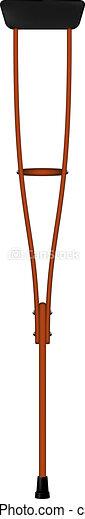 Retro crutch - csp10153392