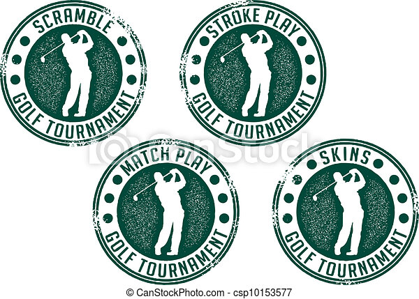 Golf Tournament Stamps - csp10153577