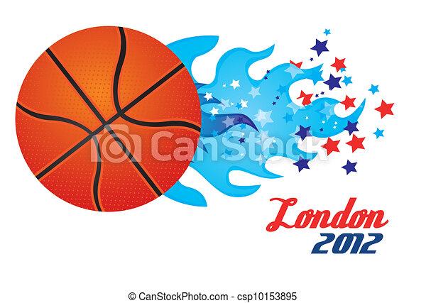 Basketball Olympics - csp10153895