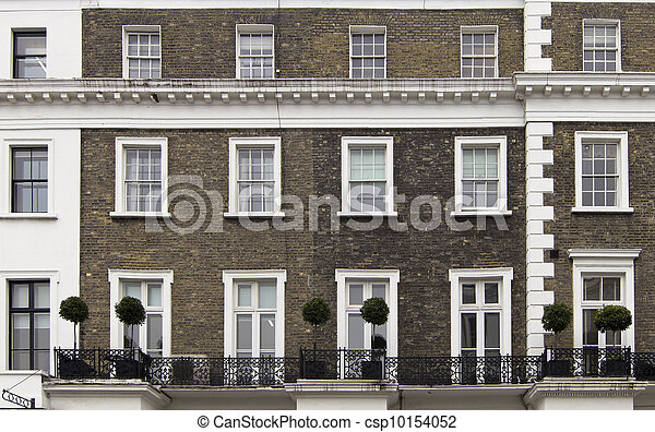 Building facade in London - csp10154052