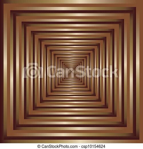 Golden frame perspective - csp10154624
