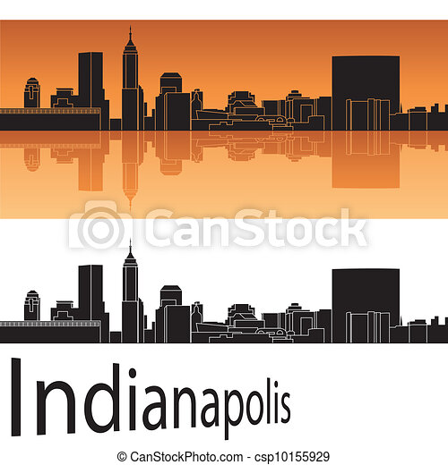 Indianapolis skyline - csp10155929