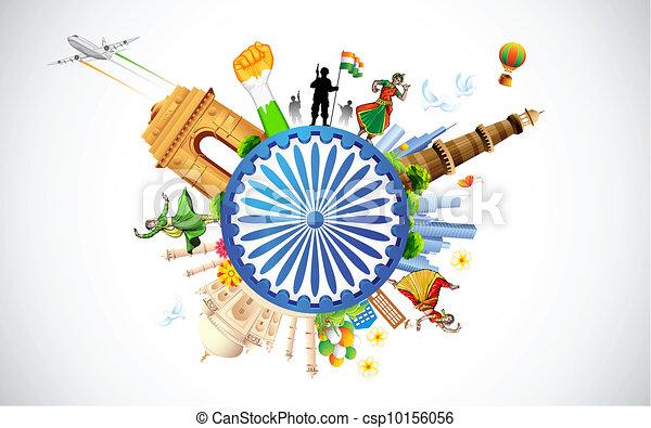 Culture of India - csp10156056