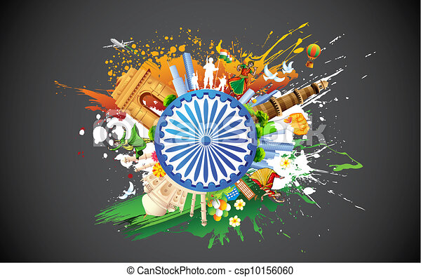 Diversity of India - csp10156060