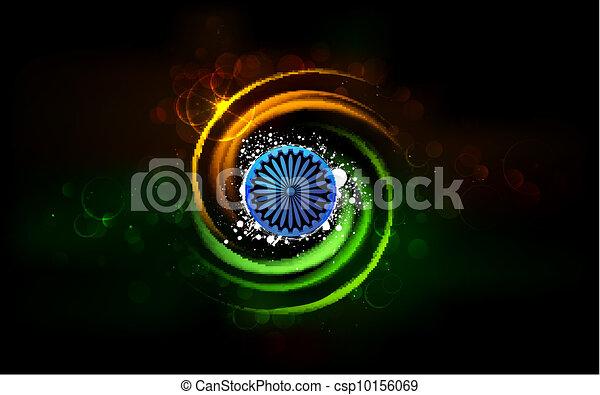 Shining India - csp10156069
