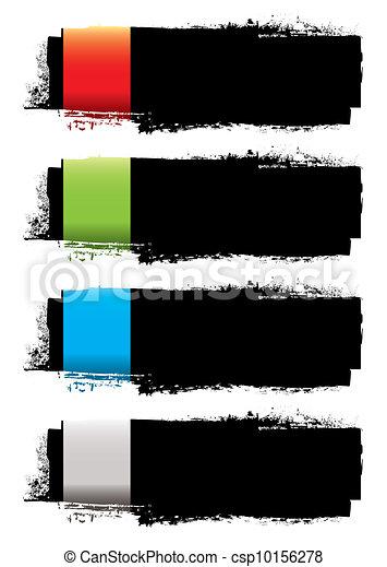 Grunge banner strip - csp10156278