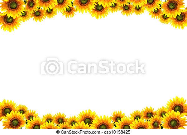 Clip Art of sun flower...