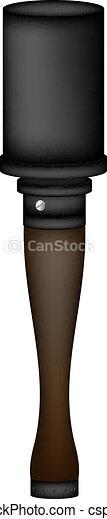 German hand grenade - csp10164066