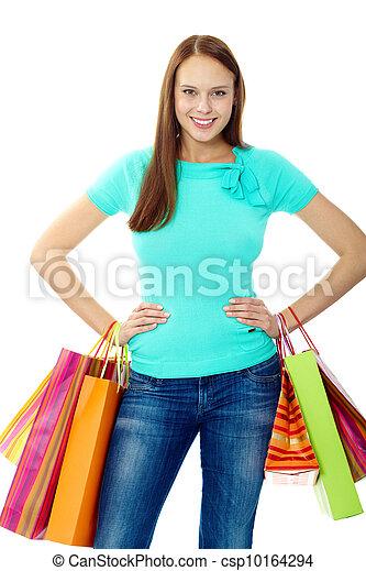 Happy consumer - csp10164294
